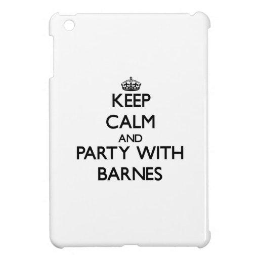 Behalten Sie Ruhe und Party mit Barnes Hüllen Für iPad Mini