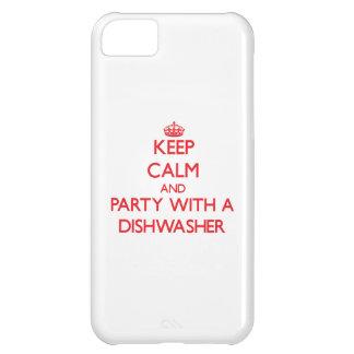 Behalten Sie Ruhe und Party mit einer Spülmaschine iPhone 5C Hülle
