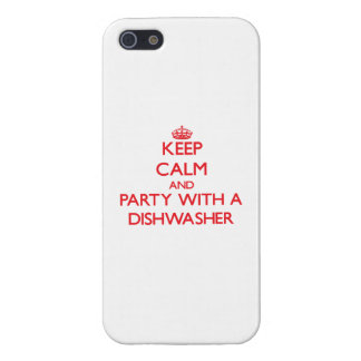 Behalten Sie Ruhe und Party mit einer Spülmaschine Etui Fürs iPhone 5