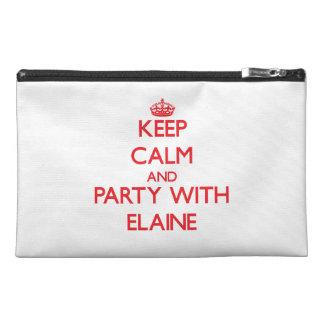 Behalten Sie Ruhe und Party mit Elaine