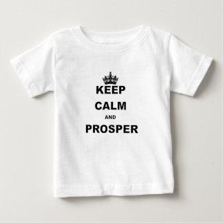 BEHALTEN Sie RUHE UND PROSPER.png Baby T-shirt