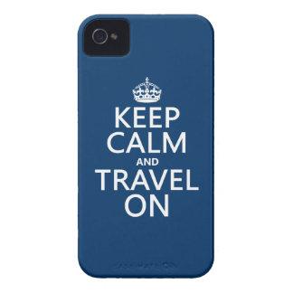 Behalten Sie Ruhe und reisen Sie an iPhone 4 Hüllen