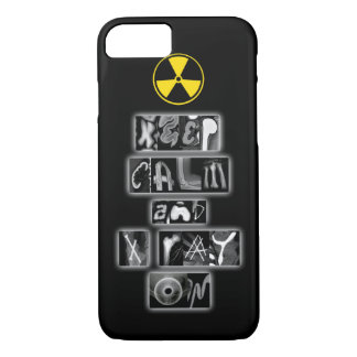 Behalten Sie Ruhe und Röntgenstrahl auf iPhone 7 iPhone 8/7 Hülle