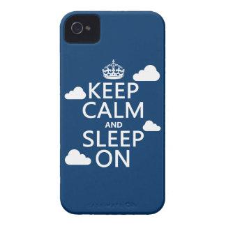 Behalten Sie Ruhe und schlafen Sie auf (fertigen iPhone 4 Hüllen