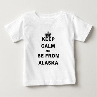 BEHALTEN Sie RUHE UND SEIEN Sie VON ALASKA.png Baby T-shirt