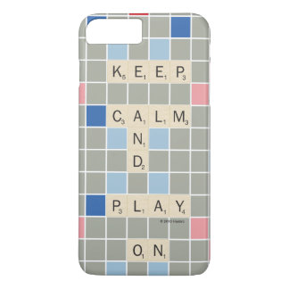 Behalten Sie Ruhe und Spiel an iPhone 8 Plus/7 Plus Hülle