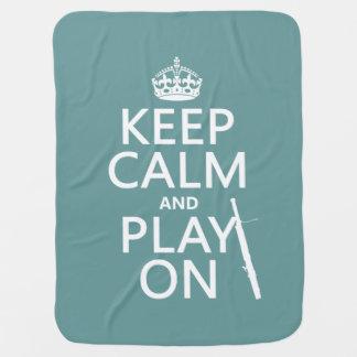 Behalten Sie Ruhe und Spiel auf (Bassoon) Puckdecke
