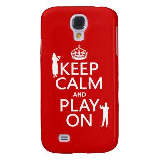 Behalten Sie Ruhe und Spiel auf (Flöte) (irgendein Galaxy S4 Hülle