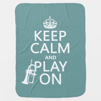 Behalten Sie Ruhe und Spiel auf (Kornett) Puckdecke