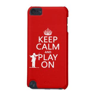 Behalten Sie Ruhe und Spiel auf (Leiter) iPod Touch 5G Hülle