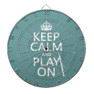 Behalten Sie Ruhe und Spiel auf (oboe) (irgendeine Dartscheibe