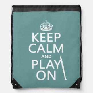 Behalten Sie Ruhe und Spiel auf (oboe) (irgendeine Sportbeutel