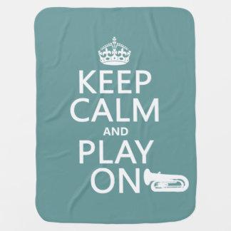 Behalten Sie Ruhe und Spiel auf (Tuba) (irgendeine Puckdecke