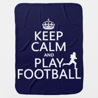 Behalten Sie Ruhe-und Spiel-Fußball Puckdecke
