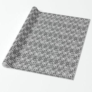 Behalten Sie Ruhe und Spiel-Schach-Muster Geschenkpapier