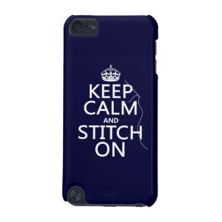 Behalten Sie Ruhe und Stich auf (alle Farben) iPod Touch 5G Hülle