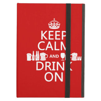 Behalten Sie Ruhe und trinken Sie auf