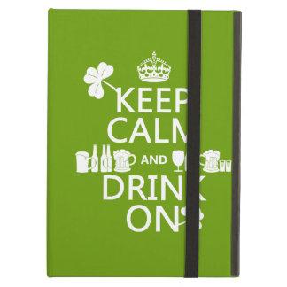 Behalten Sie Ruhe und trinken Sie auf (irische St.