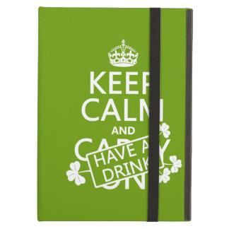 Behalten Sie Ruhe und trinken Sie etwas (irisch)