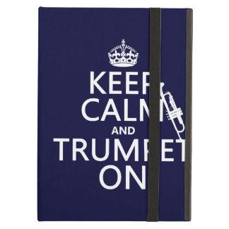 Behalten Sie Ruhe und Trompete auf (irgendeine
