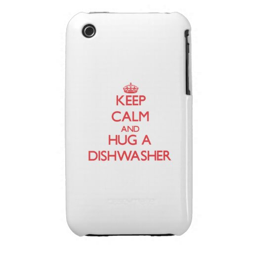 Behalten Sie Ruhe und umarmen Sie eine iPhone 3 Hülle