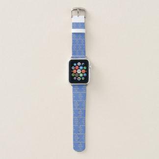 Behalten Sie Ruhe und vertrauen Sie, dass ich ich Apple Watch Armband