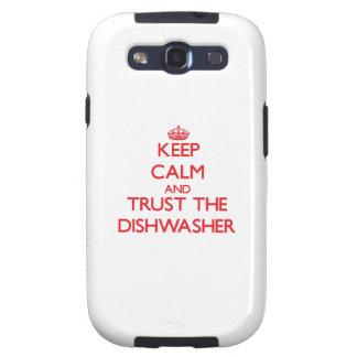 Behalten Sie Ruhe und vertrauen Sie der Samsung Galaxy S3 Etui