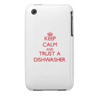 Behalten Sie Ruhe und vertrauen Sie einer iPhone 3 Cover