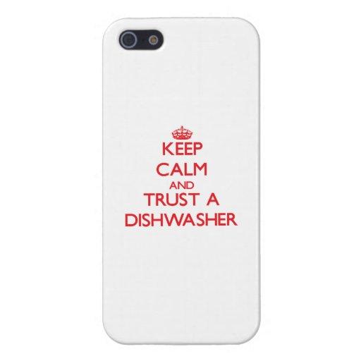 Behalten Sie Ruhe und vertrauen Sie einer iPhone 5 Etui