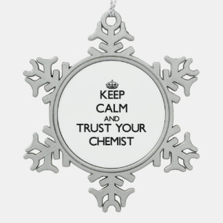 Behalten Sie Ruhe und vertrauen Sie Ihrem Chemiker