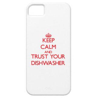 Behalten Sie Ruhe und vertrauen Sie Ihrer Hülle Fürs iPhone 5