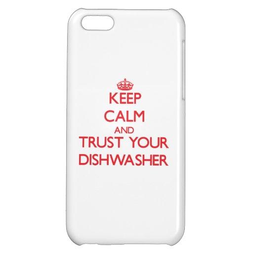 Behalten Sie Ruhe und vertrauen Sie Ihrer Hülle Für iPhone 5C