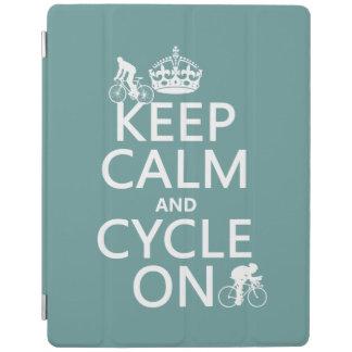 Behalten Sie Ruhe und Zyklus auf (in irgendeiner iPad Hülle