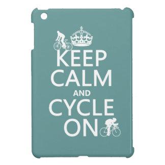 Behalten Sie Ruhe und Zyklus auf (in irgendeiner iPad Mini Hülle