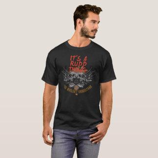 Behalten Sie Ruhe, weil Ihr Name RUDD. ist T-Shirt