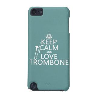 Behalten Sie Ruheund LiebeTrombone (irgendeine iPod Touch 5G Hülle