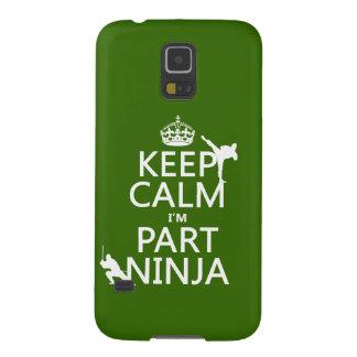 Behalten Sie ruhig ich ist Teil Ninja (in Galaxy S5 Cover