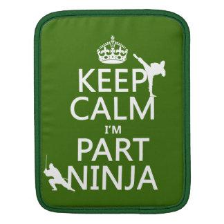 Behalten Sie ruhig ich ist Teil Ninja (in iPad Sleeve