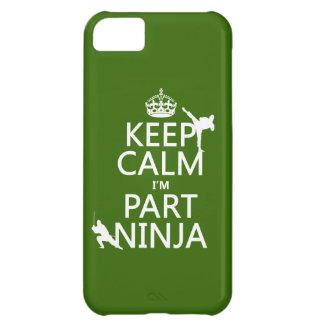 Behalten Sie ruhig ich ist Teil Ninja (in iPhone 5C Hülle