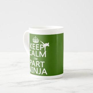 Behalten Sie ruhig ich ist Teil Ninja (in Porzellantasse