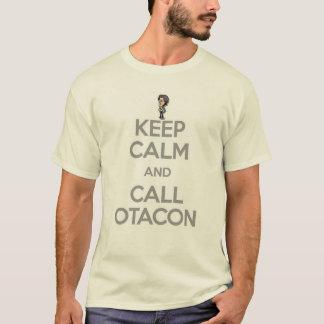 Behalten Sie ruhig und Anruf Otacon T-Shirt