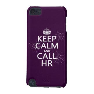 Behalten Sie ruhig und Anruf Stunde (irgendeine iPod Touch 5G Hülle