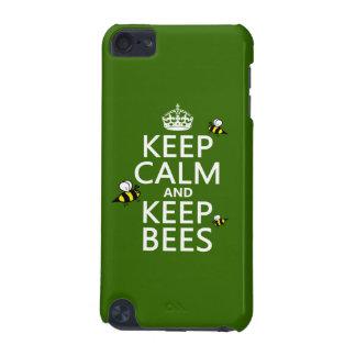 Behalten Sie ruhig und behalten Sie Bienen - alle iPod Touch 5G Hülle