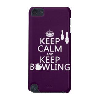 Behalten Sie ruhig und behalten Sie Bowling - alle iPod Touch 5G Hülle