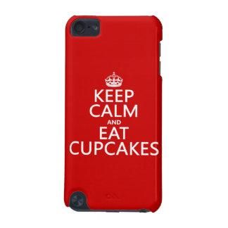 Behalten Sie ruhig und essen Sie kleine Kuchen iPod Touch 5G Hülle