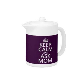 Behalten Sie ruhig und fragen Sie Mamma - alle