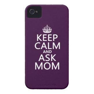 Behalten Sie ruhig und fragen Sie Mamma - alle iPhone 4 Hülle