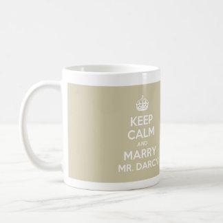 Behalten Sie ruhig und heiraten Sie Herrn Darcy -  Tasse