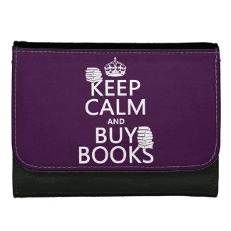 Behalten Sie ruhig und kaufen Sie Bücher (in