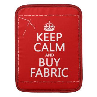 Behalten Sie ruhig und kaufen Sie Gewebe (alle iPad Sleeve